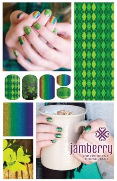 St Patricks Day Nail
