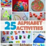 25 Alphabet Activities For Kids