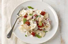 Chicken Bruschetta Pasta Recipe