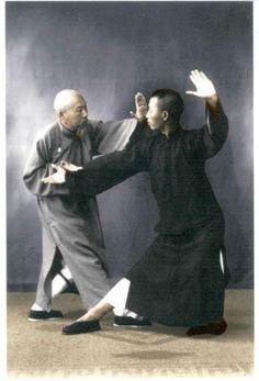 Chinese Kung Fu Tai Chi  Chen Wei Ming and Leung King Yu