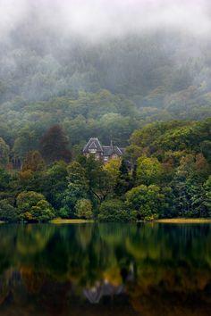Loch Achray, Scotland. A dream....take me there.