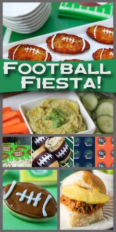 Football Fiesta…Game Day Goodies! #football #superbowl #gameday