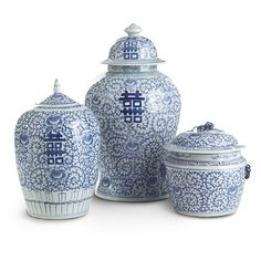 Wisteria - Accessories - Shop by Category - Home Accents - Happiness Pots - Set of 3 Thumbnail 2