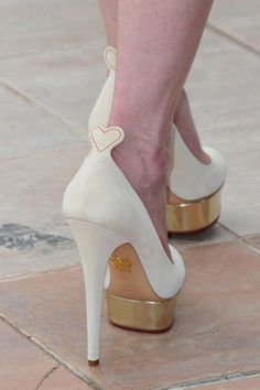 "Charlotte Olympia ""Love Dolly"" pumps"