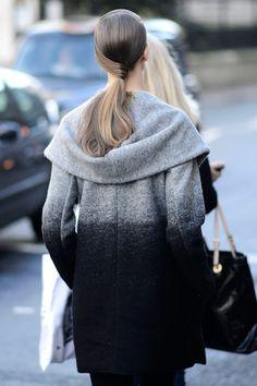 ombre coat.