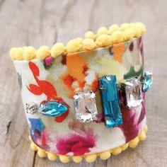 jewelry tutorials, summer gardens, diy jewelry, fresh flowers, diy bracelet, flowers garden