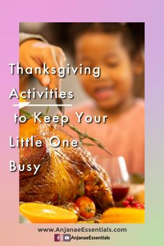 Thanksgiving activities for children 3+
