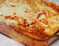 Weight Watchers Recipes | Buffalo Chicken Lasagna
