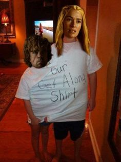 get along shirt, game of thrones