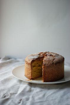 Old Fashioned Sponge Cake #MilkEveryMoment