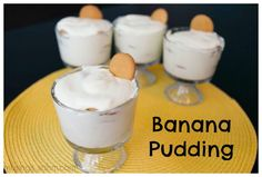 Banana Pudding recipe - so easy, the kids can help!