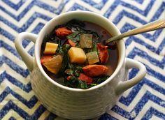 Coconut & Lime // Rachel Rappaport: Chorizo Autumn Vegetable Soup