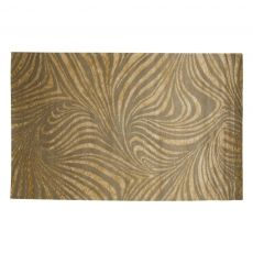 """8"""" x 11"""" Hand-Knotted Faith Rug, Fog    http://www.luxeyard.com/living/events/2354/"""