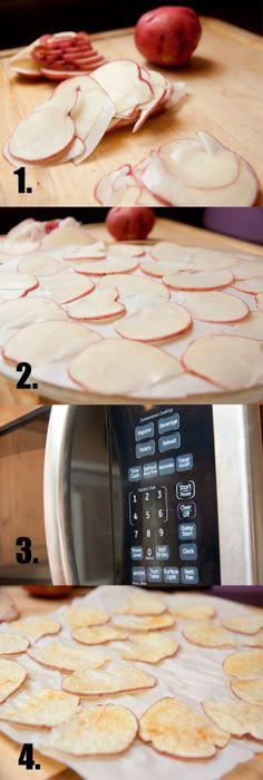 fat free baked lays in 5 minutes! - Veggie VooDoo