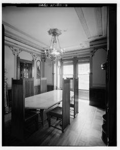 Dining Room - William H. Culmer House, C Street, Salt Lake City.