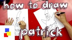 Learn how to draw Patrick from Spongebob!