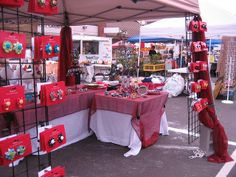 Christmas Craft Booth Display Ideas | booths | Craft show booth ideas