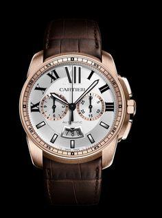 Cartier Calibre Chronographe : mécanique maison #watch #cartier