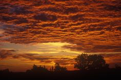 """A west Texas sunrise """"that is good for the soul"""""""