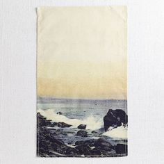 Surf's Up! Summer-themed tea towel.