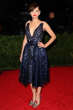 Marion Cotillard in a Dior Couture spring/summer 2014 dress.