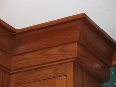 molding on craftsman/shaker style cabinets