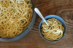pasta with preserved lemons and roasted garlic