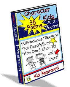 Character Education Poems I Character Kids