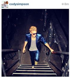 Cody's style. Love it...he's so not your average 15 year old