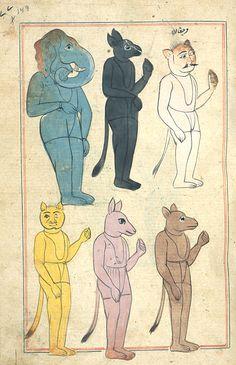 dates, illustrations, bestiari, 17th century, thing creat, creatur, thing exist, demon, anim art