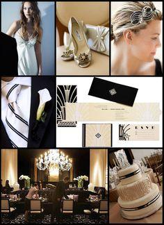 Black.White.Art Deco