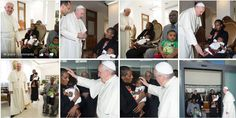 Meriam Ibrahim, Christian Woman who was sentenced to death in #Sudan for been Christian met #PopeFrancis today.
