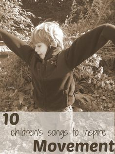 10 songs to get toddlers moving! | via @Carolyn { Pleasantest Thing }