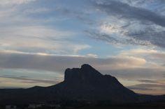 Mountain shaped like head Costa Del Sol #Spain #andreacatsicas