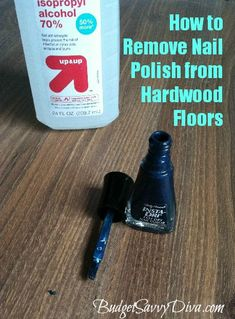 How to Remove Nail Polish from Hardwood Floors