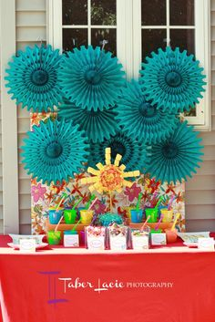 Summer Party Dessert Table