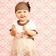 Take a look at the A Touch of Chocolate: Infant Apparel event on #zulily today!  Love these little girl outfits!