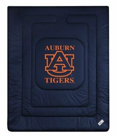 Auburn Tigers ( University Of ) NCAA Locker Room Twin Bed/Bedding Sports Comforter by Sports Coverage. $74.99
