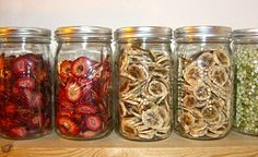 Shelf Life of Home Dehydrated Foods