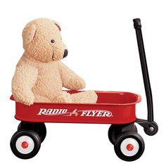 Radio Flyer 5 Little Red Wagon, $27 !!