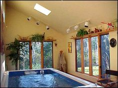Imagine building your own pool and pool room!  I know I could!! Oh, how awesome my pool room would be!!!