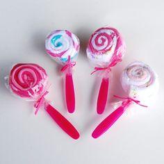 Wash cloth / spons Lollipops