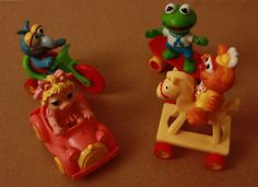 McDonalds Happy Meal Toys!!! I had all of these!!! Love the muppet babies!!!