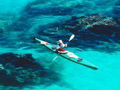 kayaking here