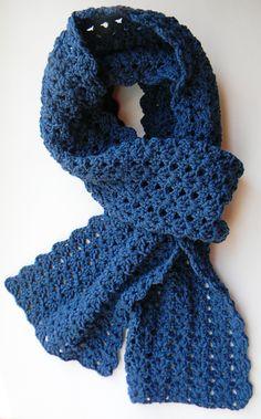 #crochet Scarf Pattern