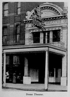 Dome Theater Youngstown Ohio 1913