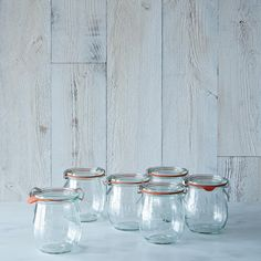 Weck Tulip Jar (Set of 6) on Provisions by Food52