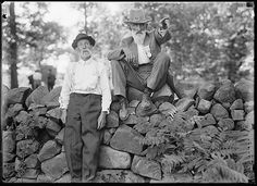 Confederate and Union Veterans at the 50th anniversary of Gettysburg 1913