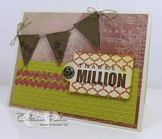I made this card for our World Card Making Day event at StampNation. www.thestampnation.com  It's a great masculine card to make using Stampin' Up products.  http://www.catherinepooler.com/2012/10/challenge-10-just-went-live/ #stampnation