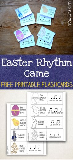 Rhythm Game for Easter - Note recognition & rhythm tapping with lots of Easter fun!